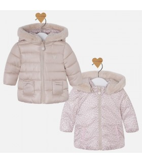 MANTEAU BEBE REVERSIBLE IVORY MAYORAL