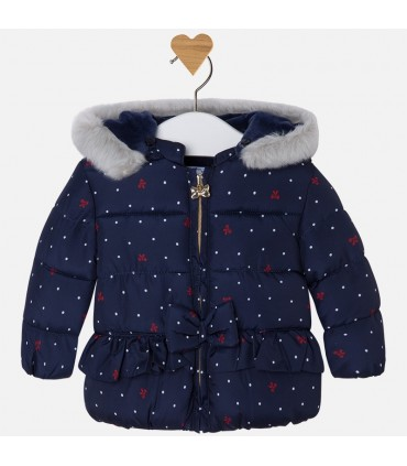 MAYORAL BABY GIRL NAVY BLUE COAT