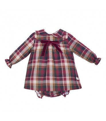 ROBE BEBE FILLE GRENAT EVE CHILDREN