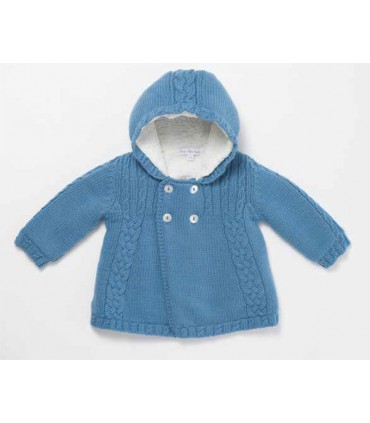 FINA EJERIQUE BABY BOY BLUE COAT
