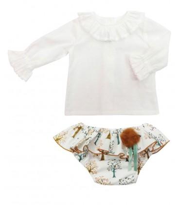 MON PETIT BONBON BABY GIRL OUTFIT