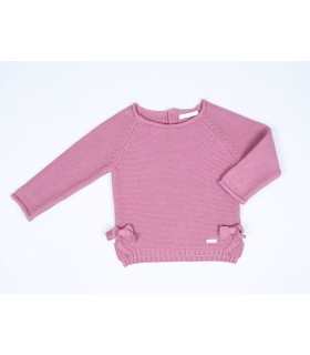 CESAR BLANCO GIRLS PINK JUMPER