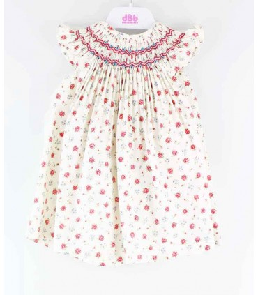 DBB BABY GIRL FLOWERES DRESS: