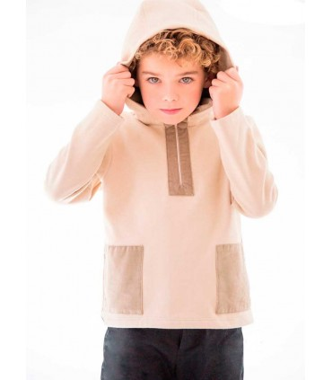 "NUECES KIDS BOYS BEIGE SWEATSHIRT ""ALEX"""