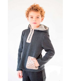 "NUECES KIDS BOYS SWEATSHIRT ""SKULLS"""
