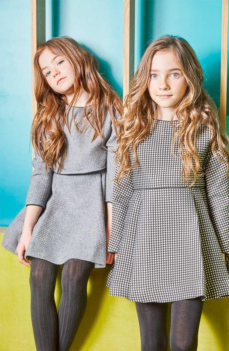Nueces Kids Girls Black And White Dress Quot Lola Quot