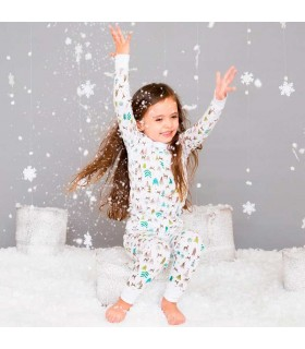 SKYLAR LUNA LONG SLEEVES PAJAMA REINDEER