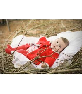 FOQUE BABY GIRL RED COAT