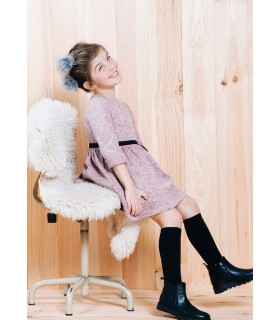 FINA EJERIQUE STRAWBERRY GIRL KNITTED DRESS