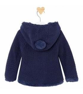 MAYORAL BABY GIRL BLUE CARDIGAN
