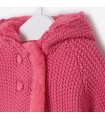 CARDIGAN BEBE FILLE ROSE MAYORAL