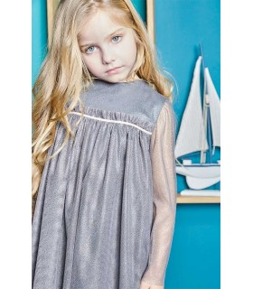 "NUECES KIDS GIRLS GREY DRESS ""GALA"""