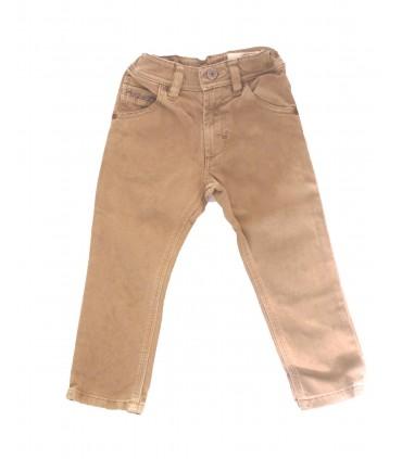 Pantalon petit garçon beige Diesel