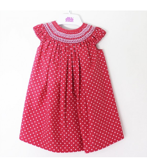 6d8ccb974 DBB moda infantil. Vestidos nido de abeja niñas y bebes - Pomerania Kids