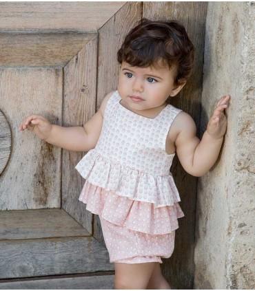 ROCHY BABY GIRLS SET DOTS