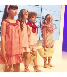 VESTIDO ROJO TIRANTE NIÑA EVE CHILDREN