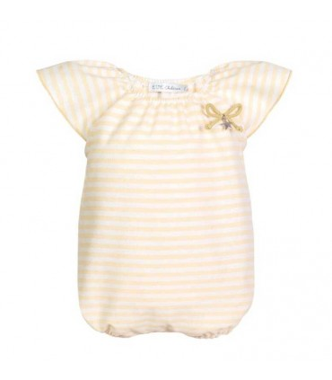 ROBE BEBE FILLE JAUNE AMARELO EVE CHILDREN