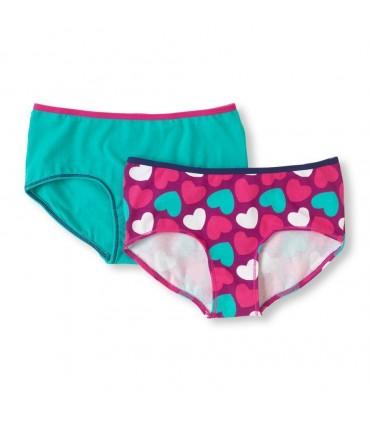 2 Pack Girls Slips Underwear Pants