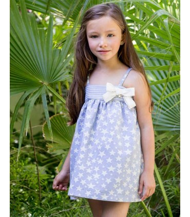 PILAR BATANERO GIRLS DRESS STARS