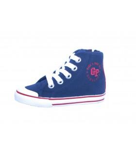 Zapatillas niño en azul marino Gioseppo