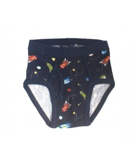 Space boy Navy Blue briefs