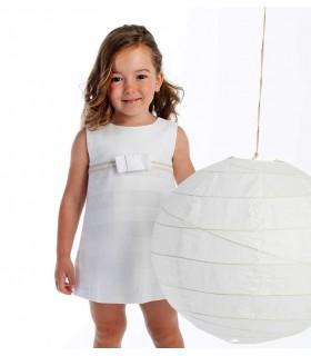 COCOTE WHITE GIRLS DRESS