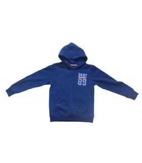 Navy blue hoodie DKNY