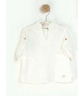 JOSE VARON BOYS LINEN BLOUSE
