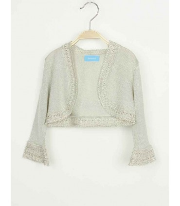 TARTALETA GIRLS GOLDEN CARDIGAN