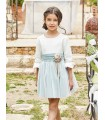 TARTALETA GIRLS GREEN DRESS