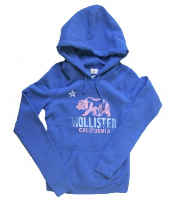 Blue Hoodie Hollister