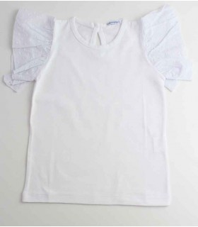 ANCAR GIRLS WHITE T-SHIRT