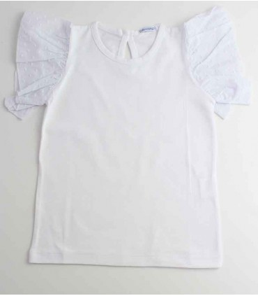 ANCAR GIRLS WHITE T-SHIRT