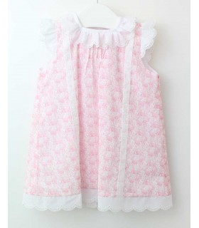 ANCAR BABY GIRL PINK DRESS