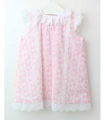 ANCAR BABY GIRL PINK DRESS
