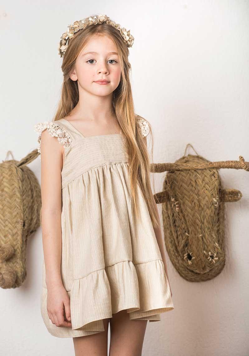 Manuela Montero Girls Dress Ana