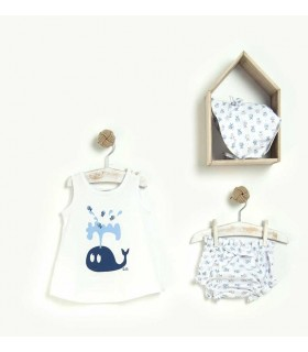 ENSEMBLE BAIN BEBE FILLE 3 PIECES