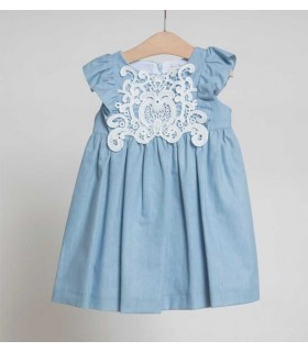 FINA EJERIQUE GIRLS BLUE DRESS