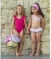 ROCHY GIRLS SWIMMING SUIT BUTTERFLIES