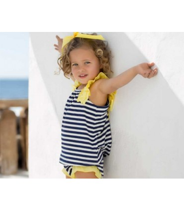 ROBE BEBE FILLE NAVY KIDS CHOCOLATE