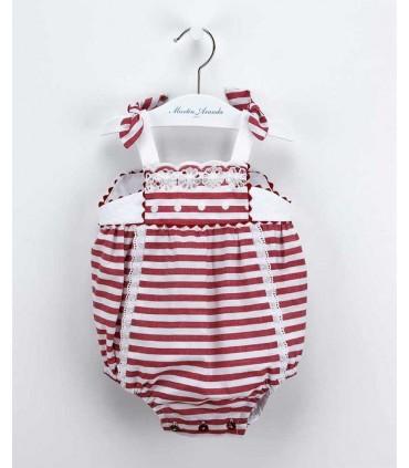 MARTIN ARANDA BABY ROMPER STRIPE