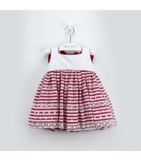 MARTIN ARANDA GIRL STRIPES DRESS
