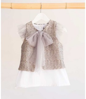 CAMISA TUL SILVER KIDS CHOCOLATE