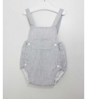 ANCAR GREY BABY OVERALLS