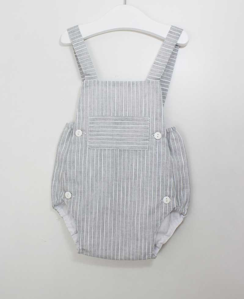PETO GRIS BEBE ANCAR. Ropa de bebe niño online de calidad 90a50bc82e63