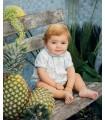 MARTIN ARANDA BABY BOY DENIM SET BOAT