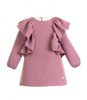 EVE CHILDREN GIRLS DRESS WITH FRILL QUILL