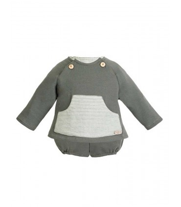 CONJUNTO VERDE BEBE FOREST EVE CHILDREN