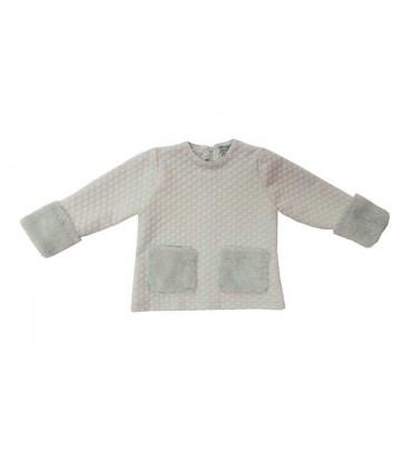 MON PETIT BONBON GREY GIRLS SWEATER