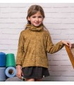 SWEAT MOUTARDE PETITE FILLE PILAR BATANERO